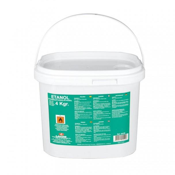 Eimer 4 kg Gel-Ethanol-Kraftstoff