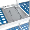 Regal Einfache, Modulare 4 Regale Hintergrund 560 mm Höhe 1750 mm