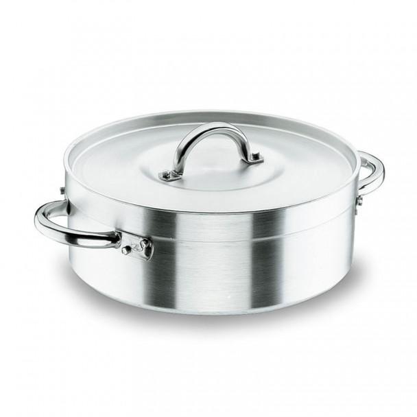 Pfanne mit Deckel Chef-Aluminium