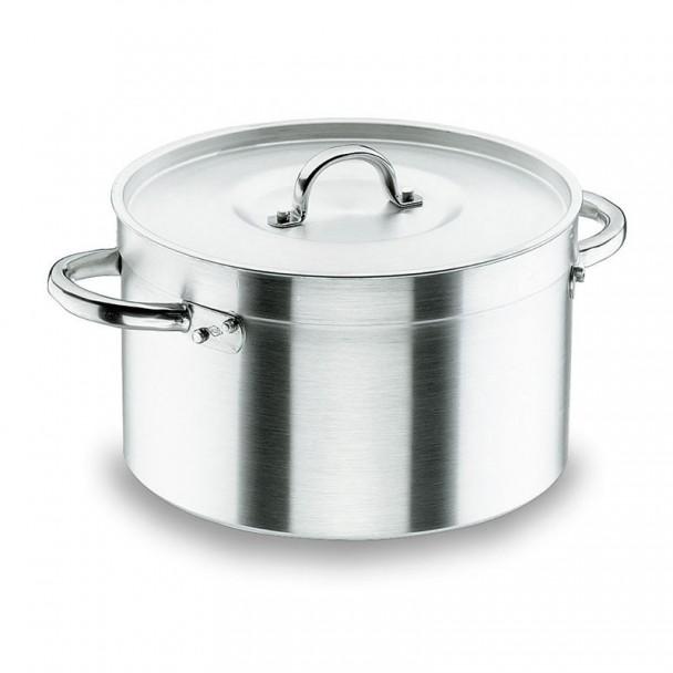 Kochtopf Hoch mit Deckel Chef-Aluminium