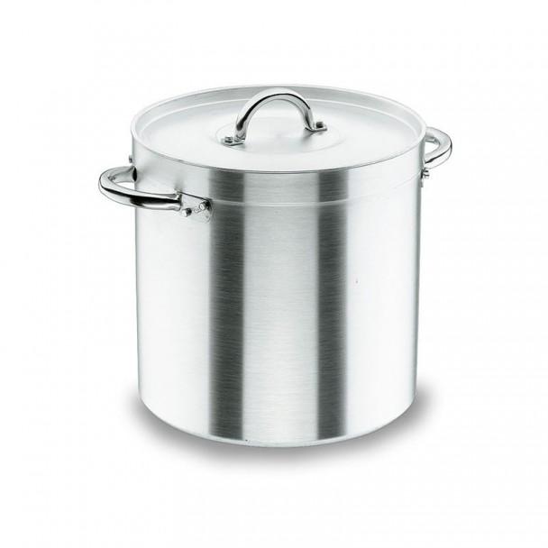 Topf Gerade mit Deckel Chef-Aluminium