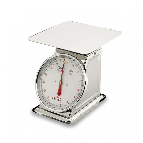 Waage Mechanisch 15 kg, mit Teller