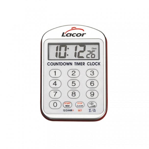Uhr - Küche mit Alarm