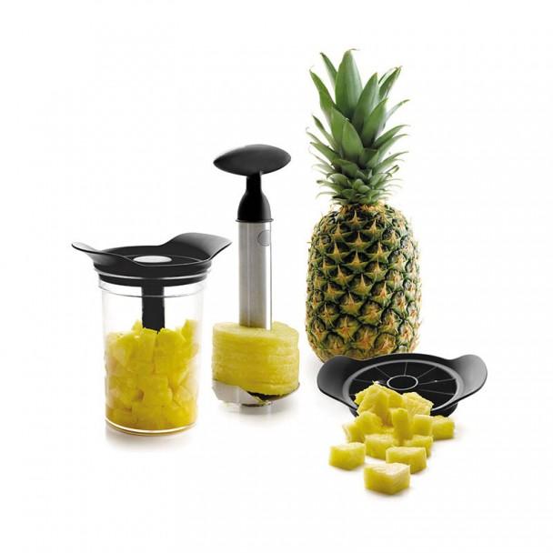 Spiel-Cutter-Peeler Ananas mit Base