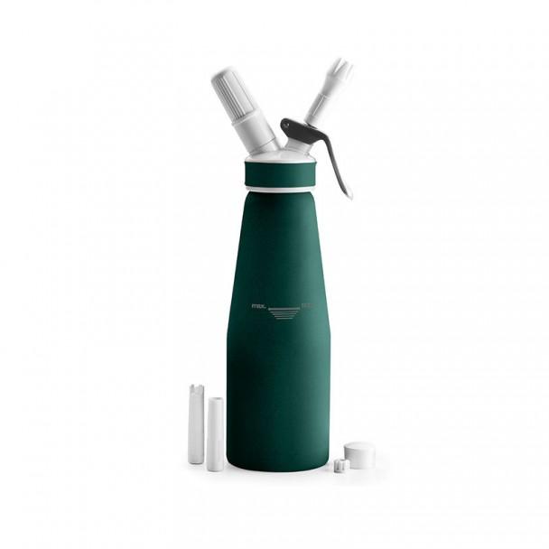 Flasche Siphon Creme Aluminium Green