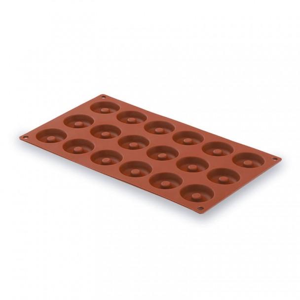 Form Mini Savarin 15 Kavitäten Silikon Pastryflex