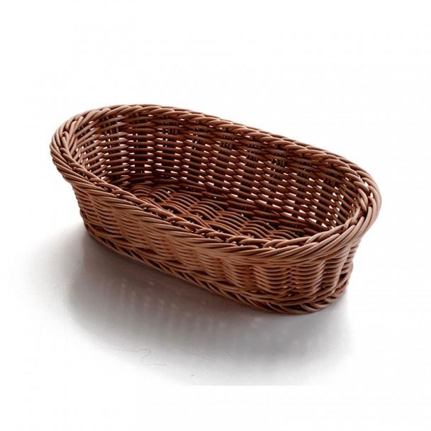 Korb Brot Oval Braun