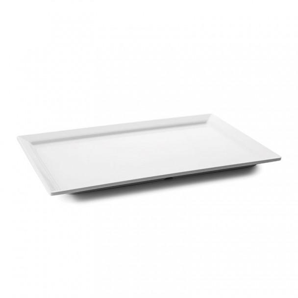 Tablett, Rechteckig, Groß, White Classic