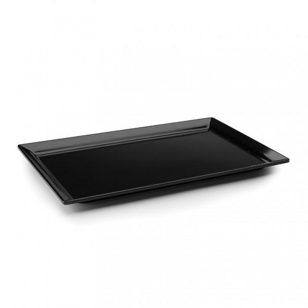 Tablett, Rechteckig, Groß, Black Classic