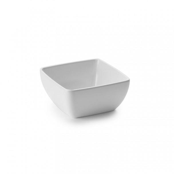 Schüssel Salat Classic White