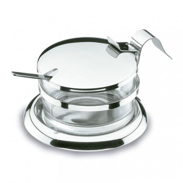 Glas Ersatz für Käse-Parmesan