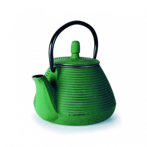 Teekanne Gusseisen 0,8 L Grün
