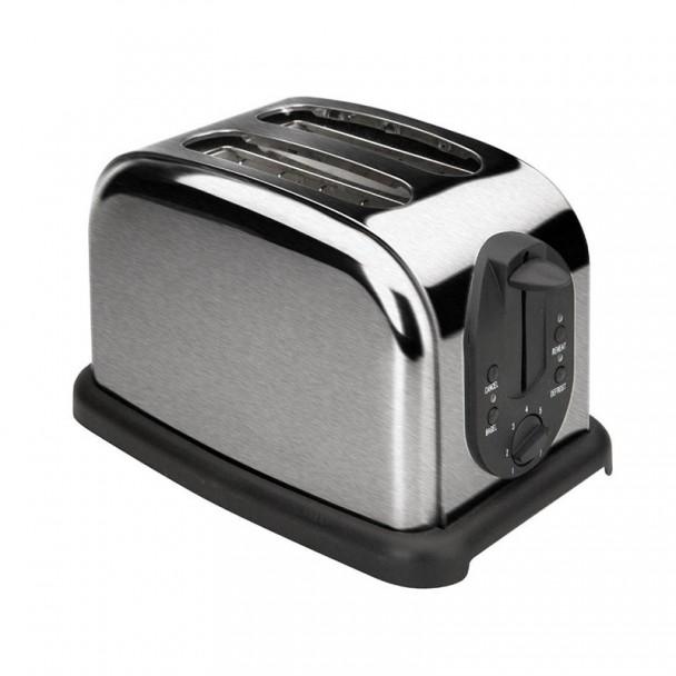 Toaster auto 2 Steckplätze Scheiben Brot