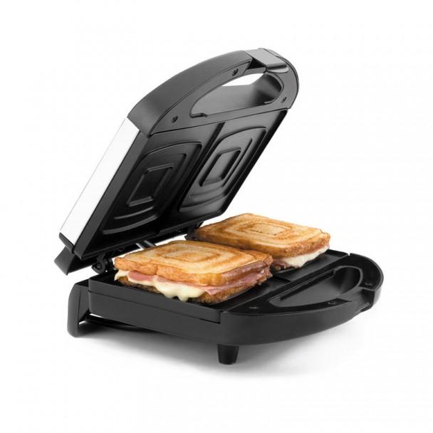 Sandwich-Toaster-Elektrisch Scheiben Quadratisch