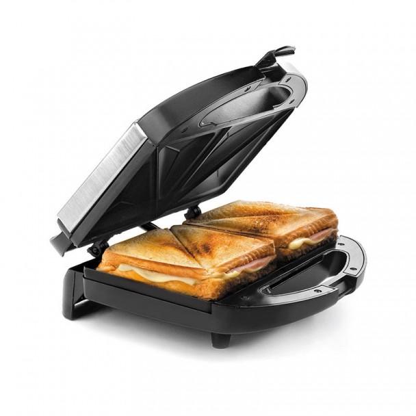 Sandwich-Toaster-Elektrisch Scheiben Dreieckig