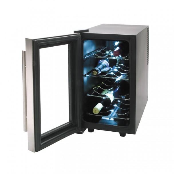Schrank Kühlschrank Elektrisch 25 l/70 W - 8 Flaschen Inox Line