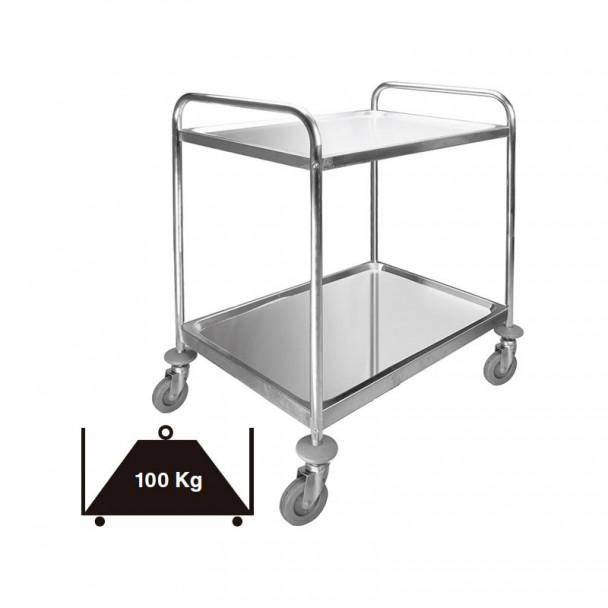 Lkw-Service 2 Fächer Abnehmbarer Edelstahl 100 kg