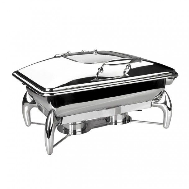 Chafing Dish Luxe Edelstahl Gastronorm 1/1