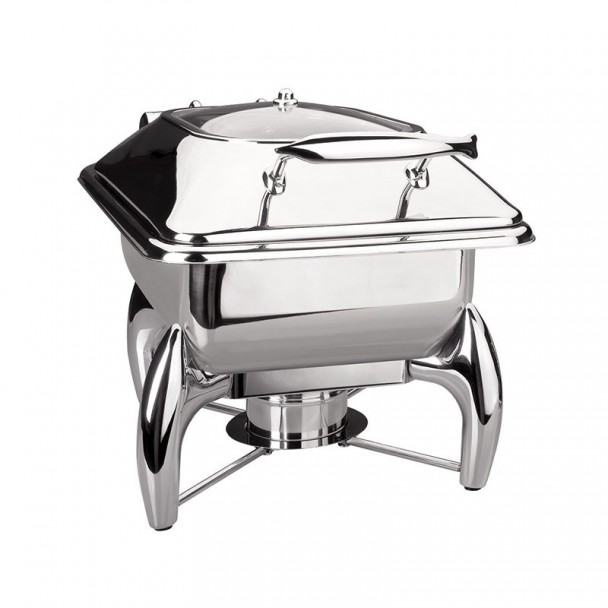 Chafing Dish Luxe Edelstahl Gastronorm 1/2
