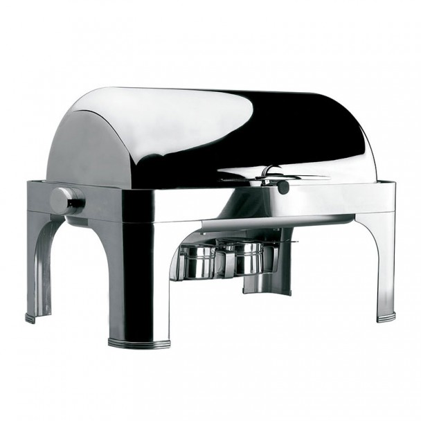Chafing Dish GN 1/1 Roll Top, mit integriertem Inox