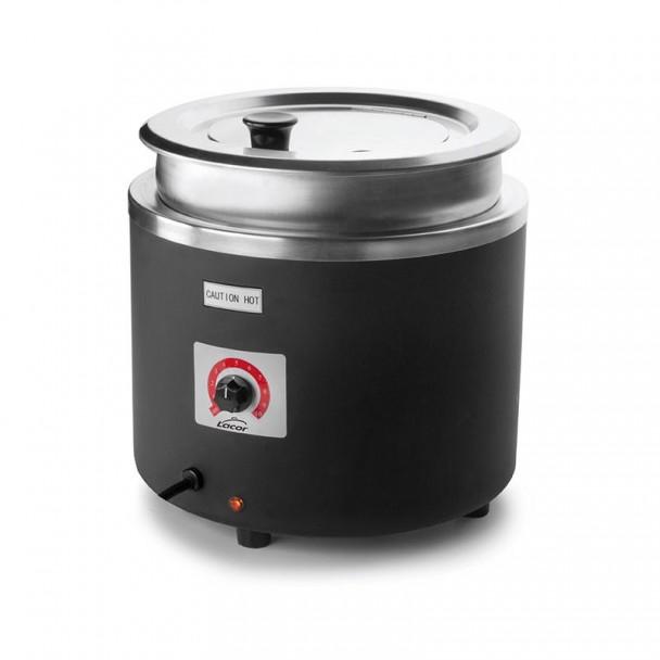 Elektrische heizung der Suppe