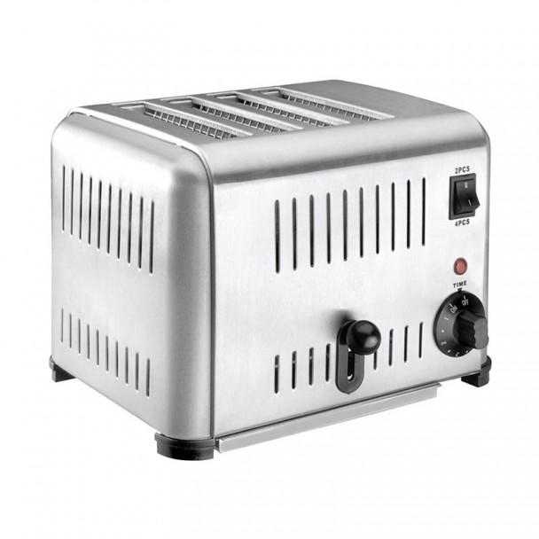 Toaster Buffet Inox 4 Slots