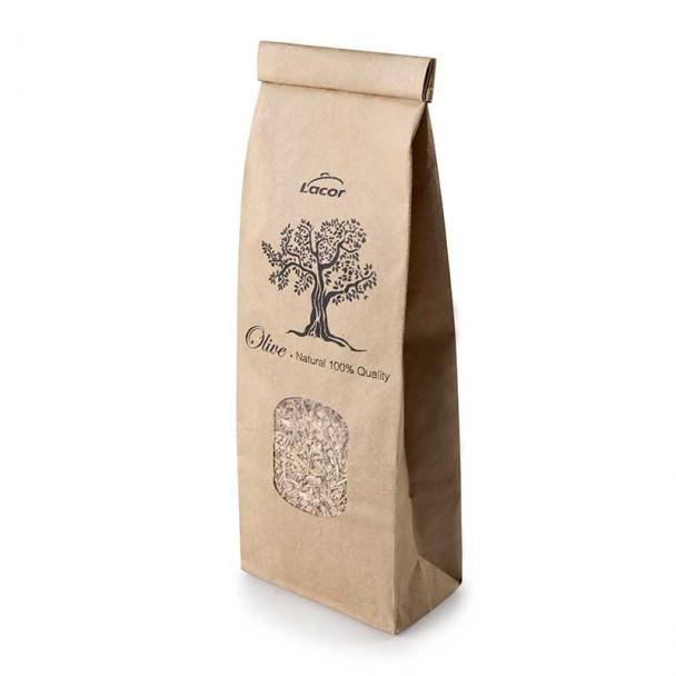 Sägespäne aus dem Holz des Olivenbaums