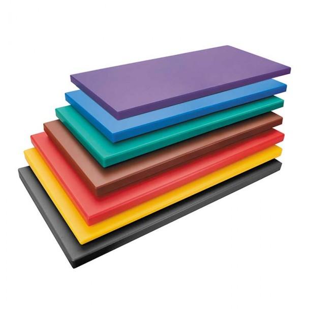 Schneidbrett GN 1/1 Polyethylen Farben
