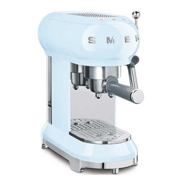 Espresso Kaffeemaschine 50er Jahre Stil blau