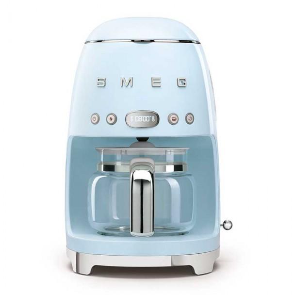 50er jahre Stil blau drip Kaffeemaschine