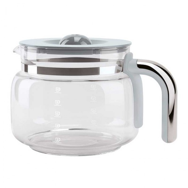 Glas Kaffeekanne